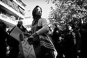 Ilaria Cucchi all'esterno del tribunale di Roma, dopo l'incontro con il Procuratore capo Pignatone, in merito alla riapertura del processo per la morte del fratello Stefano. Roma 03 Novembre 2014. Christian Mantuano / OneShot