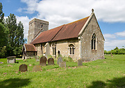 Village parish church of Saint Catherine, Ringshall, Suffolk, England, UK
