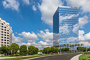 Cylance Glass Building In Irvine On Spectrum Center Dr.
