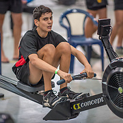 Rico Lowry MALE LIGHTWEIGHT U15 1K Race #11  11:45am<br /> <br /> <br /> www.rowingcelebration.com Competing on Concept 2 ergometers at the 2018 NZ Indoor Rowing Championships. Avanti Drome, Cambridge,  Saturday 24 November 2018 © Copyright photo Steve McArthur / @RowingCelebration