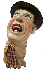 Clown head Ringling Museum