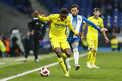 January 17, 2019 - Barcelona, Catalonia, Spain - Samuel Chukwueze (30) of Villarreal CF and Pablo Piatti (19) of RCD Espanyol during the match RCD Espanyol v Villarreal CF, for the round of 16 of the Copa del Rey played at Camp Nou  on 17th January 2019 in Barcelona, Spain. (Credit Image: © Mikel Trigueros/NurPhoto via ZUMA Press)