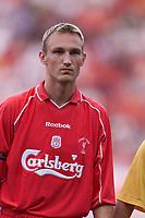 Fotball, Liverpool's Finish international defender Sammi Hyypia. (Foto: Digitalsport).