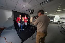 Henk van Cauwenbergh, Olivier Philippaerts, Nicola Philippaerts, Axelle Koninckx<br /> Foto shoot met Henk van Cauwenbergh voor KBRSF - Zaventem 2018<br /> © Hippo Foto - Dirk Caremans<br /> 01/05/2018