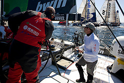 Stockholm/Saint Petersburg, June 25th- June 27th 2009. Green Dragon during leg 10 of the Volvo Ocean Race (25/27 June 2009).