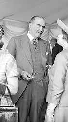 The 4TH DUKE OF WESTMINSTER at a wedding on 12th June 1965.