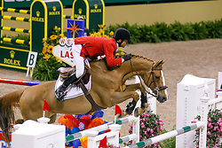 Farrington Kent, USA, Up Chiqui<br /> World Cup Final Jumping - Las Vegas 2009<br /> © Hippo Foto - Dirk Caremans<br /> 17/04/2009