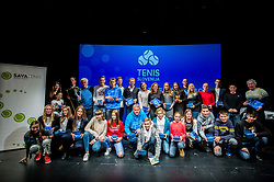 Athletes during Slovenian Tennis personality of the year 2017 annual awards presented by Slovene Tennis Association Tenis Slovenija, on November 29, 2017 in Siti Teater, Ljubljana, Slovenia. Photo by Vid Ponikvar / Sportida
