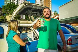 Ponto de venda Heineken no supermercado Nacional da Bela Vista, para o St Patrick's Day 2017. Foto: Jefferson Bernardes/ Agência Preview