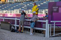 Roos Etienne, Van Lent Jeroen, Devroe Jeroen<br /> Olympic Games Tokyo 2021<br /> © Hippo Foto - Dirk Caremans<br /> 18/07/2021