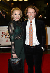 Sophie Simnett and Ross McCormack arriving at the UK Premiere of Mum's List, Curzon Cinema, London.<br /> Photo credit should read: Doug Peters/EMPICS Entertainment