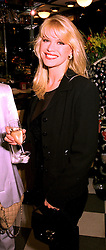 MISS CINDY JACKSON a friend of Major James Hewitt, at a party in London on 20th October 1998.MKZ 8