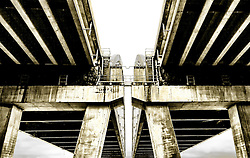 The structural geometry of the Page Bridge