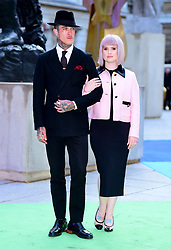 Kelly Osbourne and Jimmy Q arriving for Royal Academy of Arts Summer Exhibition Preview Party 2019 held at Burlington House, London. Picture date: Tuesday June 4, 2019. Photo credit should read: Matt Crossick/Empics
