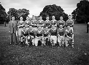 Gaelic Football Crowe Wilson Drapers team Drapers Championship on the 15th of July 1952.