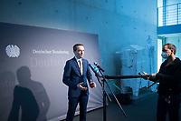 DEU, Deutschland, Germany, Berlin, 05.11.2020: Deutscher Bundestag, Paul-Löbe-Haus, Sitzung des 1. Untersuchungsausschusses zum Terroranschlag auf dem Breitscheidplatz. Statement von Benjamin Strasser (MdB, FDP).