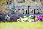 Smith Park on Broadway in San Gabriel California