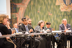 18 September 2017, Geneva, Switzerland: A talkshow format presents a range of programmes and activities of the World Council of Churches, at the Ecumenical Centre in Geneva where the WCC hosts a meeting of member churches' Ecumenical Officers.