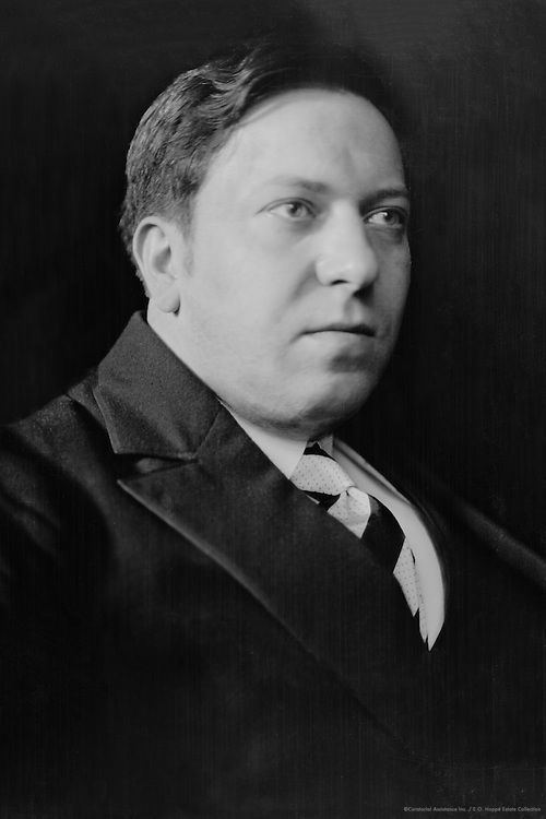 Werner Mahrholz, German Writer and Intellectual, 1927