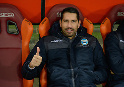 December 1, 2017 - Rome, Italy - Marco Borriello during the Italian Serie A football match between A.S. Roma and Spal at the Olympic Stadium in Rome, on december 01, 2017. (Credit Image: © Silvia Lore/NurPhoto via ZUMA Press)