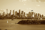 View from Taronga Zoo Sydney, Australia