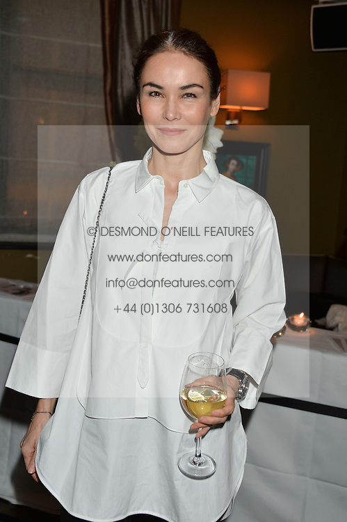 CINDY BILTON at a party to launch Madderson London Women's Wear held at Beaufort House, 354 Kings Road, London on 23rd January 2014.