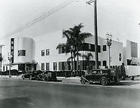 1936 NBC Radio on Melrose Ave.