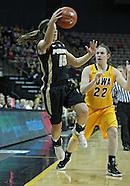 NCAA Women's Basketball - Purdue at Iowa - January 28, 2012