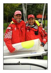 470 Class European Championships Largs - Day 6..Men's Winners, CRO83, Sime FANTELA, Igor MARENIC .