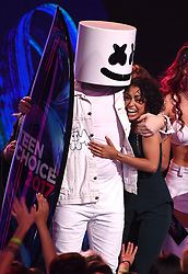 LOS ANGELES - AUGUST 13:  Liza Koshy accepts Choice Female Web Star onstage at FOX's 'Teen Choice 2017' at the Galen Center on August 13, 2017 in Los Angeles, California. (Photo by Frank Micelotta/FOX/PictureGroup) *** Please Use Credit from Credit Field ***