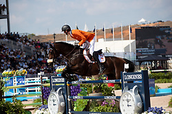 Schuttert Frank, NED, Chianti s Champion<br /> World Equestrian Games - Tryon 2018<br /> © Hippo Foto - Dirk Caremans<br /> 21/09/2018