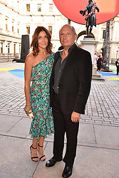 Ron Dennis and Carol Weatherall at the Royal Academy Of Arts Summer Exhibition Preview Party 2018 held at The Royal Academy, Burlington House, Piccadilly, London, England. 06 June 2018.