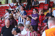 England fans at the final whistle during the UEFA European Under 17 Championship 2018 match between England and Italy at the Banks's Stadium, Walsall, England on 7 May 2018. Picture by Mick Haynes.