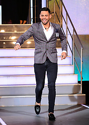 Andrew Brady enters the house during the Celebrity Big Brother Men's Launch held at Elstree Studios in Borehamwood, Hertfordshire.