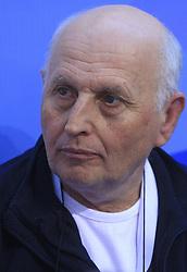 Coach Vladimir Cermak of Slovenia at 4th day of Heats of LEN European Short Course Swimming Championships Rijeka 2008, on December 14, 2008,  in Kantrida pool, Rijeka, Croatia. (Photo by Vid Ponikvar / Sportida)