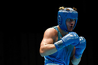 Boksing<br /> 23.08.2014<br /> Foto: imago/Digitalsport<br /> NORWAY ONLY<br /> <br /> NANJING, Aug. 23, 2014 --  Vegar Tregren of Norway competes during men s light heavy (81kg) preliminaries of boxing at the Nanjing 2014 Youth Olympic Games in Nanjing, east China s Jiangsu Province, Aug. 23, 2014.