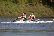 Crew: 17 - Haeata / Halsall - Sons of the Thames Rowing Club - Op 2x Club <br /> <br /> Pairs Head 2020