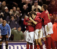 Photo: Jed Wee.<br /> England v Uruguay. International Friendly. 01/03/2006.<br /> <br /> England mob match winner Joe Cole (11).