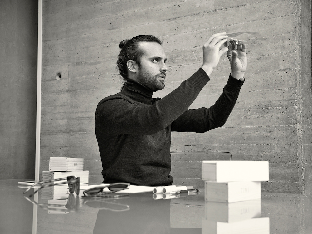 Guillermo Casar, Founder and Creative Director of TIWI.