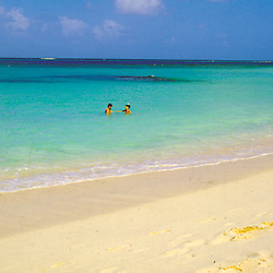 Couple Snorkeling, Anguilla British West Indies