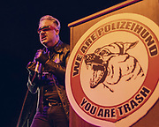 Sean Jaundice, Polizeihund, at Lottery League 2016 Big Show by Mara Robinson