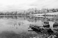 Infrared Salt Marsh Pond Gilford, NH.  ©2015 Karen Bobotas Photographer