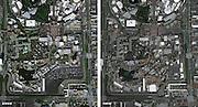 THEN AND NOW: Aerial Disney Park Photos<br /> Disneyland, Magic Kingdom, EPCOT Center, Disney-MGM Studios, Animal Kingdom, California Adventure.<br /> <br /> Photo shows: California Adventure<br /> ©Imagineeringdisney/Exclusivepix