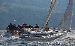 Largs Regatta Week 2015, hosted by Largs Sailing Club and Fairlie Yacht Club<br /> <br /> GBR9740 R, Sloop John T, Swan 40, Thomson<br /> <br /> Credit Marc Turner