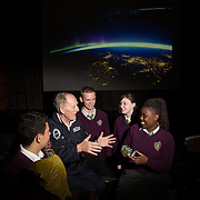 05.10.2016       <br /> European Space Education Resource Office (ESERO) Ireland and the CEIA – Cork's Technology Network – are calling on secondary school students to take their first step into the world of space exploration. Teams of senior cycle students from across Ireland are being asked to design, build and launch mini-satellites in the shape of a soft drink can as part of the ESERO Ireland and CEIA CanSat Competition. <br /> <br /> Pictured at the launch were, Limerick man Cyril Bennis, Space Tourist with Thomond Community College students, Tyreak Chaddad, Adam Kelly, Danika Worthy and Raissa Pululu at Limerick Institute of Technology.<br /> <br /> The competition, now in its seventh year, was officially launched today (Wednesday) in Limerick Institute of Technology by 'space tourist' and Limerick man Cyril Bennis, as part of National Space Week. Picture: Alan Place