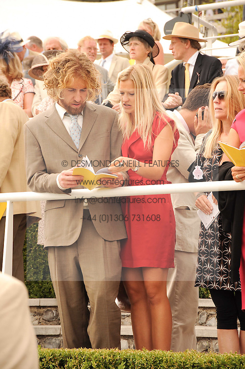 LADY ALEXANDRA GORDON-LENNOX and ? at the third day of the 2010 Glorious Goodwood racing festival at Goodwood Racecourse, Chichester, West Sussex on 29th July 2010.