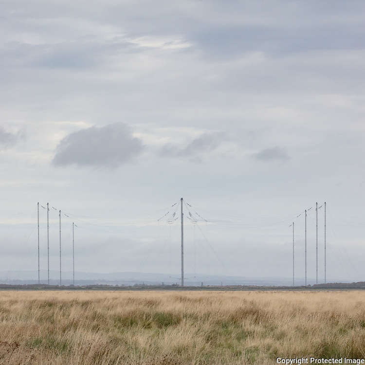 Anthorn Radio Station, Cumbria. A Very Low Frequency (VLF) transmitter station, which is used for transmitting orders to submarines. The site is also used to transmit the UK's time signal.