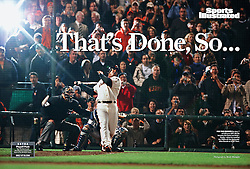 Barry Bonds hits #756, Sports Illustrated, 2007