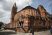 The King's Weigh House today serves as the Ukrainian Catholic Cathedral of the Holy Family in Exile and was formerly the name of a Congregational Church in London, UK.