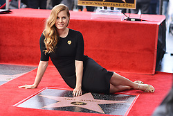 Amy Adams is honored with a star on the Hollywood Walk of Fame on January 11, 2017 in Los Angeles, California. Photo by Lionel Hahn/AbacaUsa.com